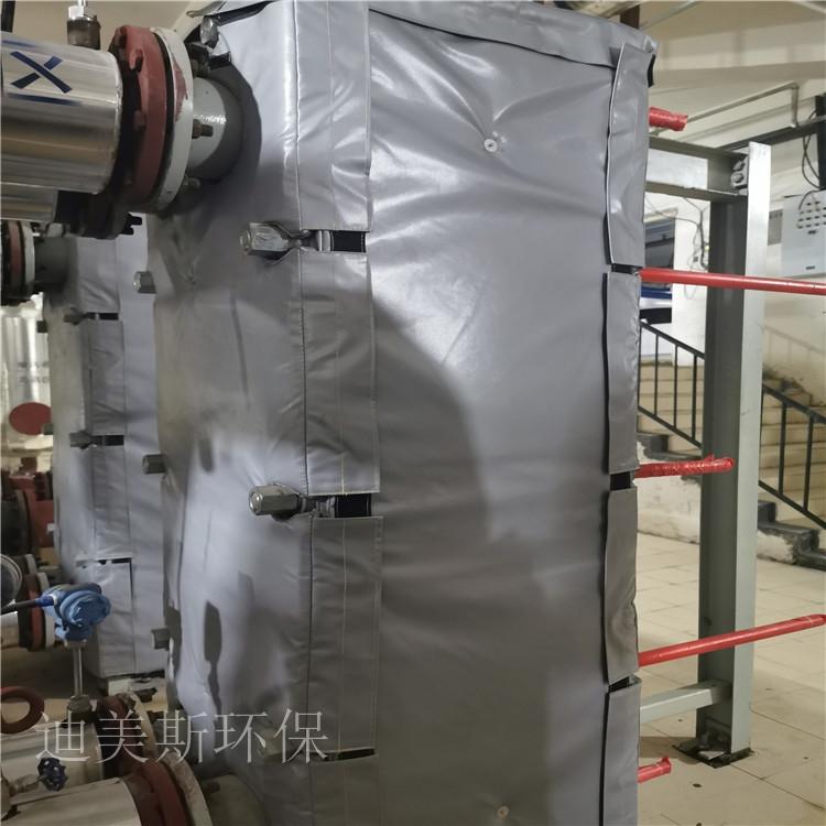 硫化机蒸汽阀门隔热夹克