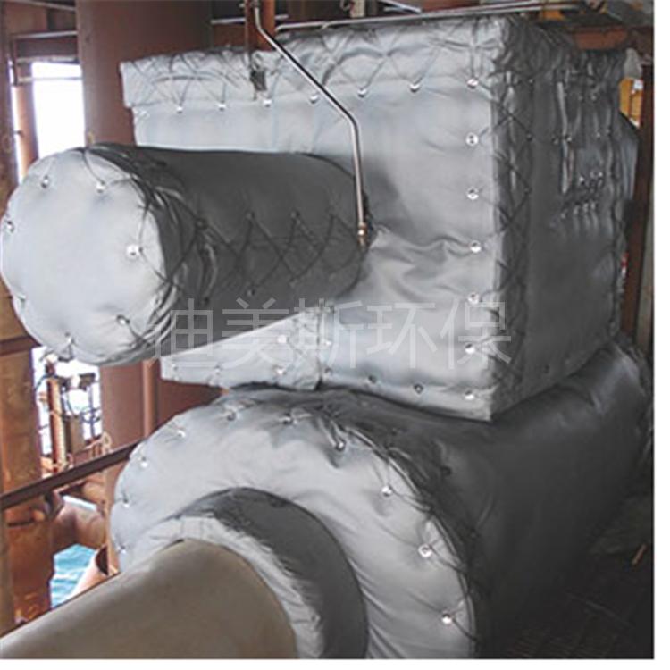 管道可拆卸保温隔热夹克