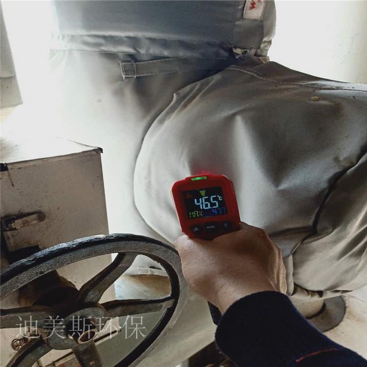 可拆卸集油管道隔热夹克