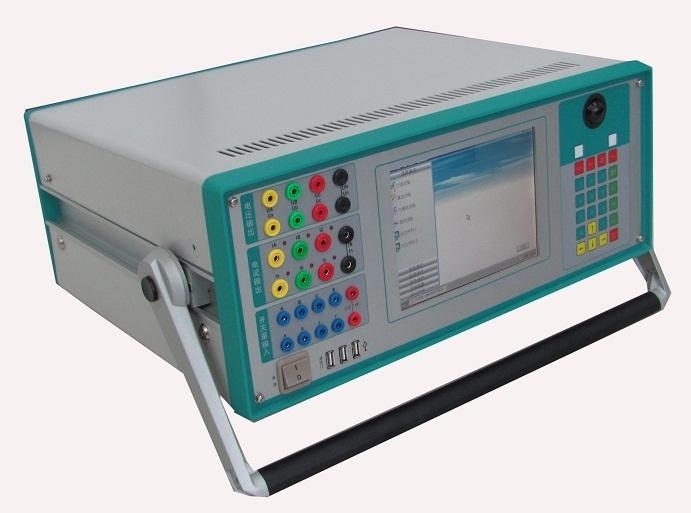 触摸屏智能六相继电保护测试仪