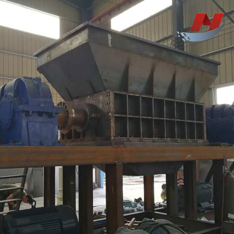 河南金属废钢撕碎机 工业固废垃圾撕碎机