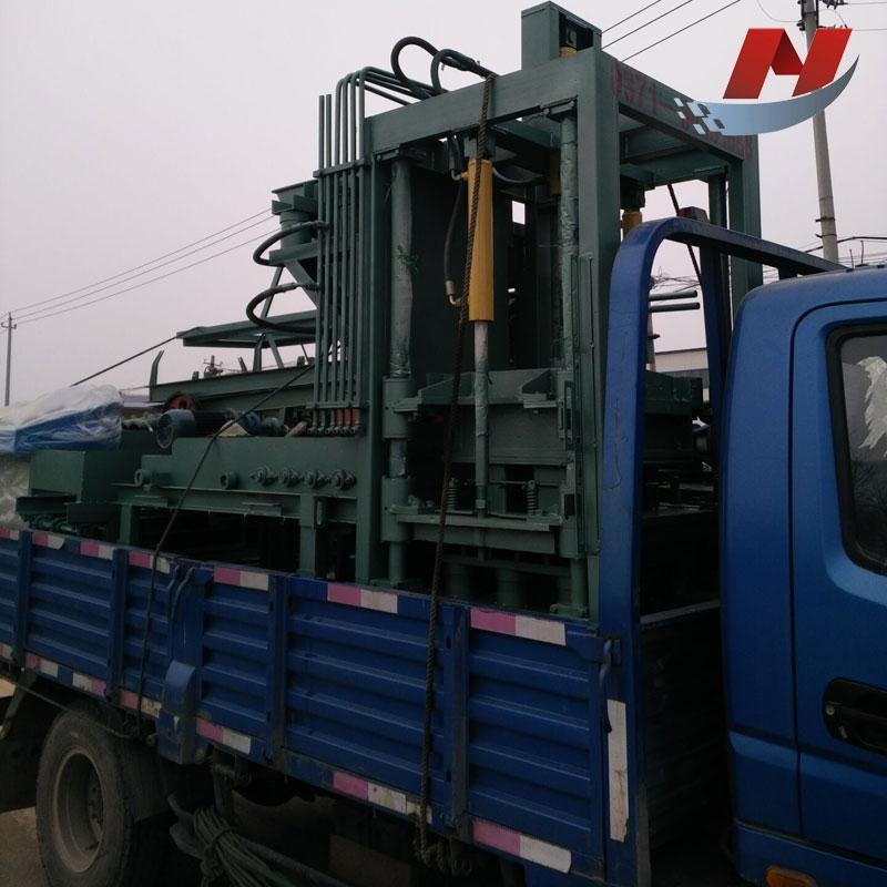 全自动透水砖机 水泥支撑垫块机设备 环保混凝土制砖机