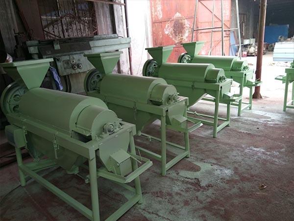 单轴水稻除尘机两相电稻米抛光机可以定制