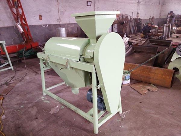 上海单轴水稻除尘机家用电稻米抛光机支持