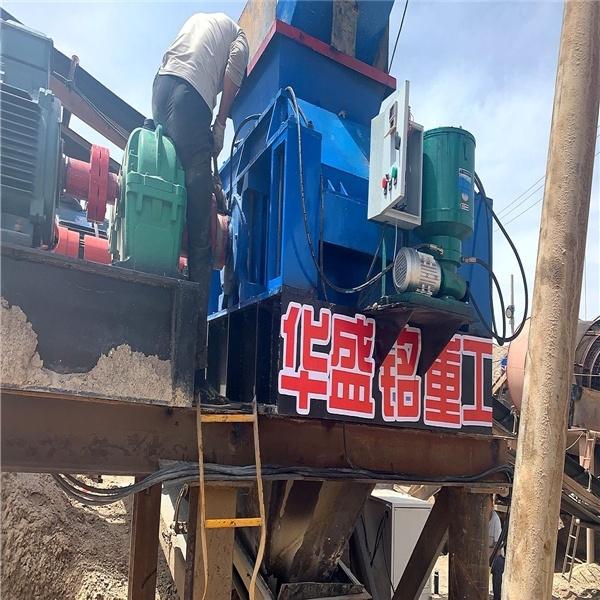 时产150吨河卵石制砂机