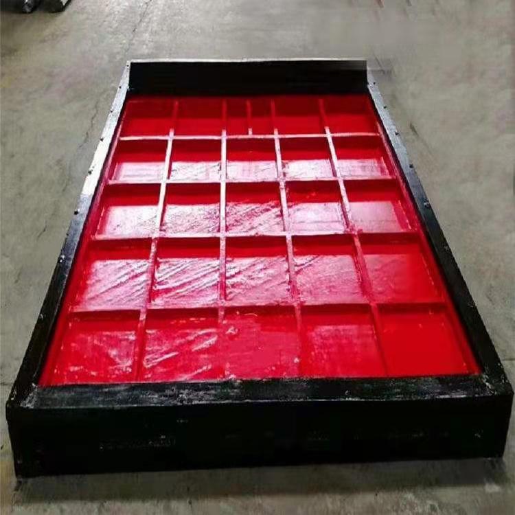 1米铸铁镶铜方闸门 生产厂家
