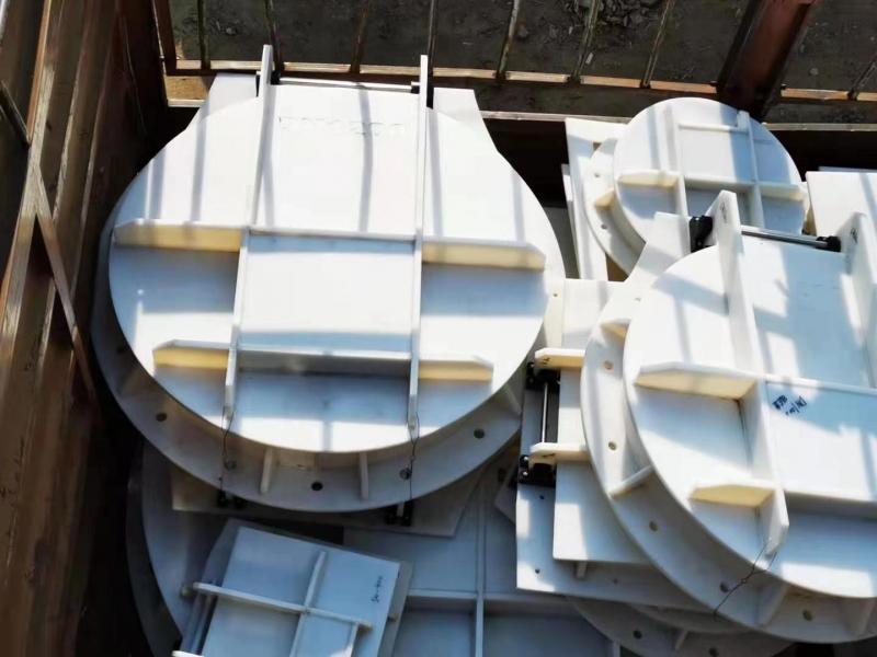 DN600塑料拍门