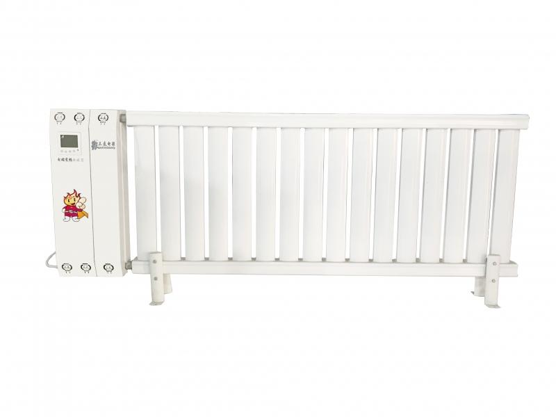 电磁采暖一体机2kW碳钢暖气片16柱