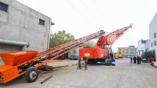 联源公司BLJ600-42型带式混凝土布料机产品主要参数