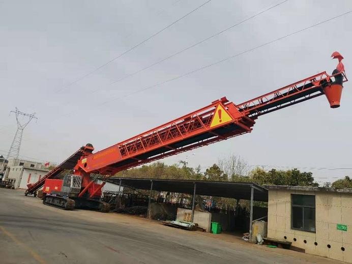 南通联源混凝土布料机施工工位布置和施工流程