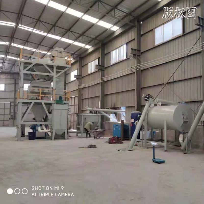 年产5万吨干粉砂浆设备多少钱一套