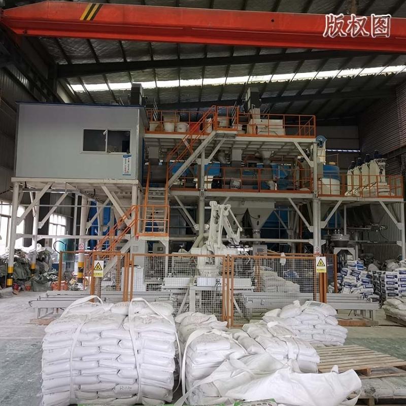 硕冠年产10万吨预拌砂浆生产线