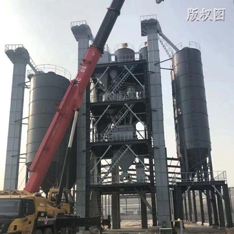 硕冠年产5万吨干粉砂浆生产线设备