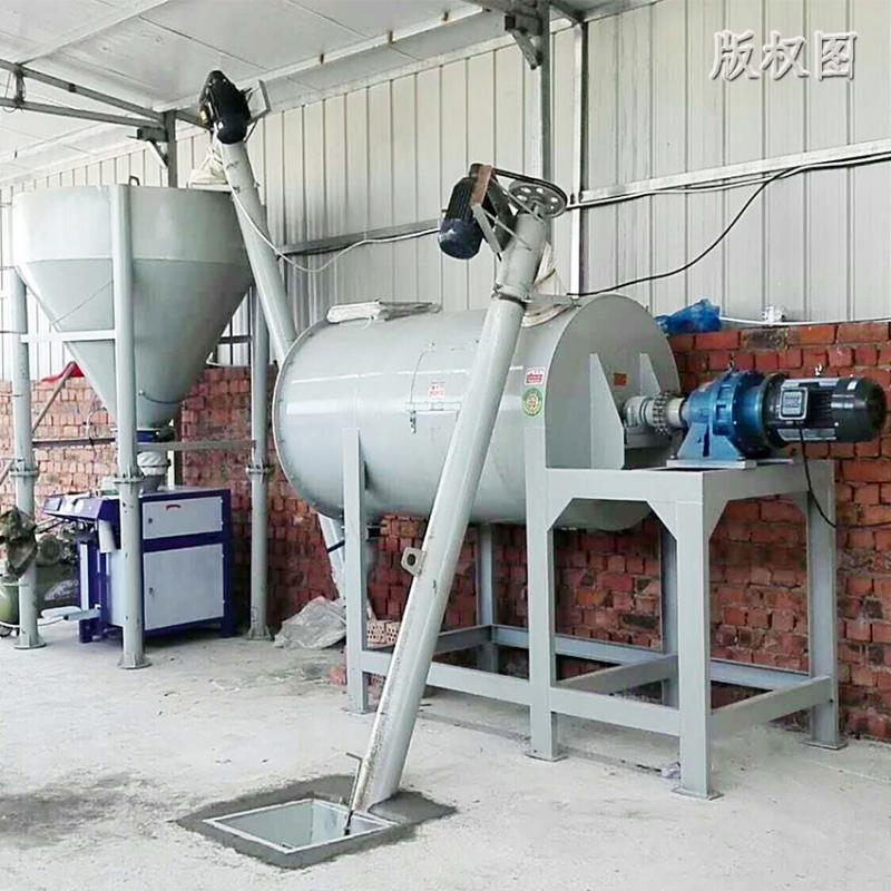硕冠1吨干粉砂浆搅拌设备_腻子粉搅拌机_石膏砂浆生产设备