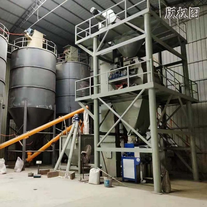 硕冠5万吨袋装干粉砂浆生产线