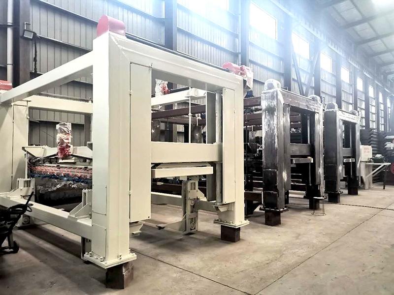 30万立方加气块设备生产线