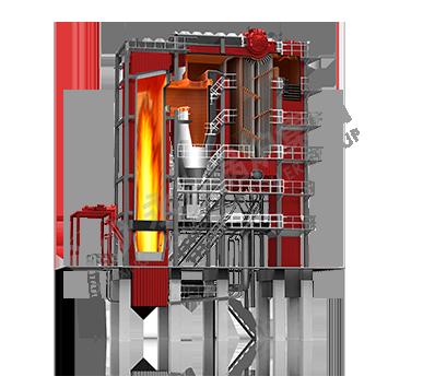 QXX型循环流化床锅炉