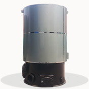 LRF型立式燃煤(生物质)高中温热风炉
