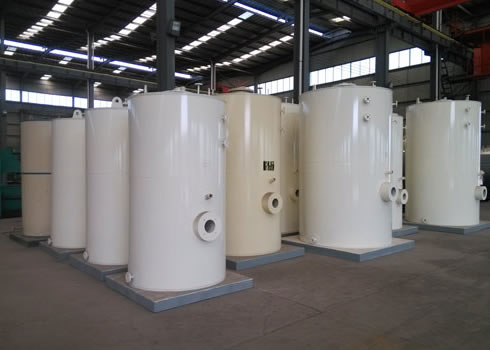燃油(气)立式热水锅炉