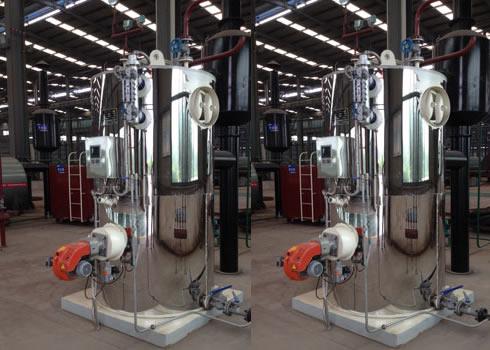 燃甲醇立式蒸汽锅炉