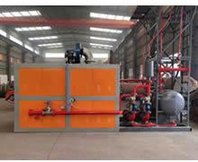 燃气燃油方形撬装导热油锅炉