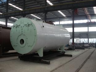 立式火管全自动燃油(气)蒸汽锅炉