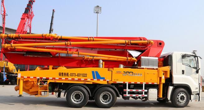 混凝土泵车型号