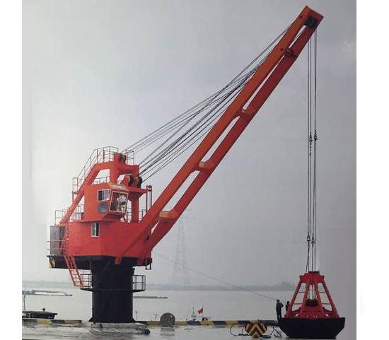 船用起重机工作原理