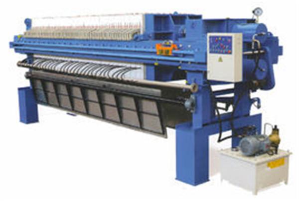 板框压滤机工艺过程