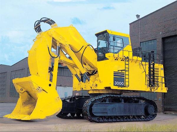 重型挖掘机