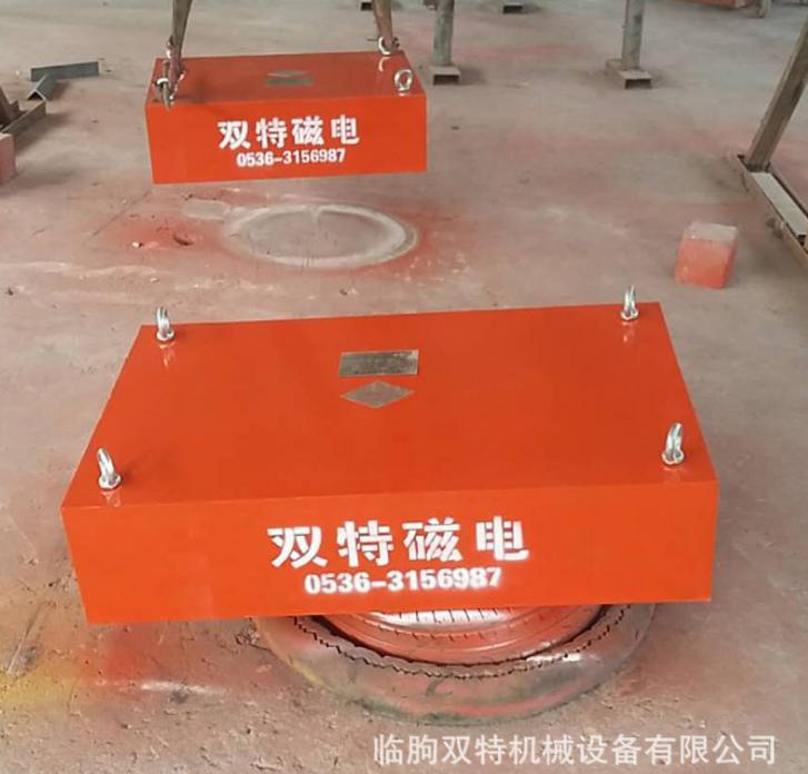 厂家供应永磁除铁器 悬挂式永磁除铁器 强磁吸铁石永磁除铁机