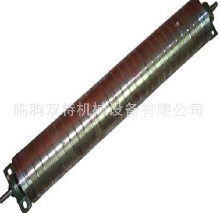 永磁滚筒磁环磁滚 输送动力滚筒 石英砂磁滚筒强磁磁选机厂家直销