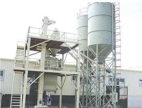 干粉砂浆设备组成