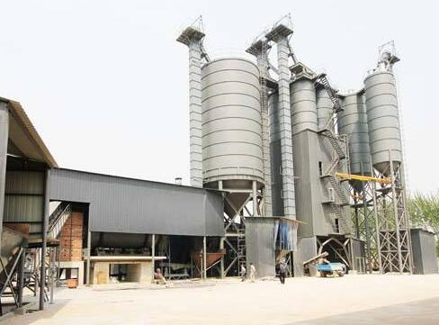 干粉砂浆生产线注意事项