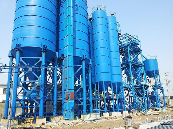 干粉砂浆生产线系统