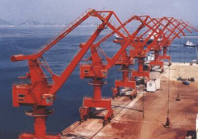 港口起重机原理