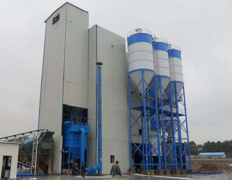 预拌砂浆设备储存