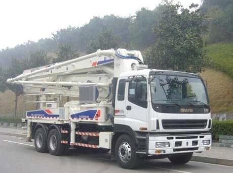 混凝土泵车性能
