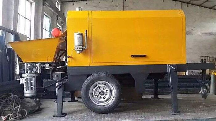 混凝土输送泵简介