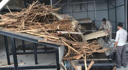 建筑模板粉碎机