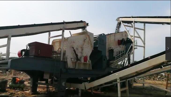陕西碎石机生产线 分期付款各种石料碎石机 移动破碎站厂家