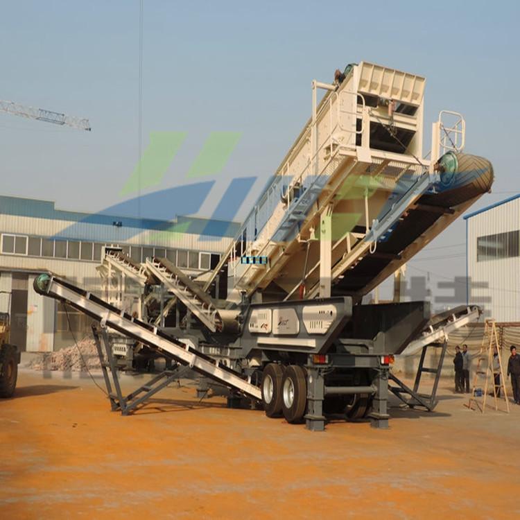 山东恒美百特建筑垃圾破碎机 自动式石料破碎机可分期付款 反击式破碎机厂家