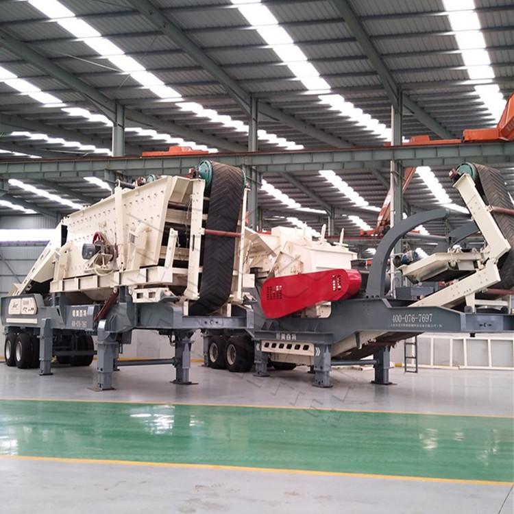 北京时产100方建筑垃圾分筛设备 一体化反击式破碎机报价 颚式破碎机厂家