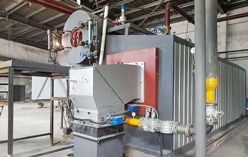 SZS燃气低氮冷凝余热蒸汽锅炉