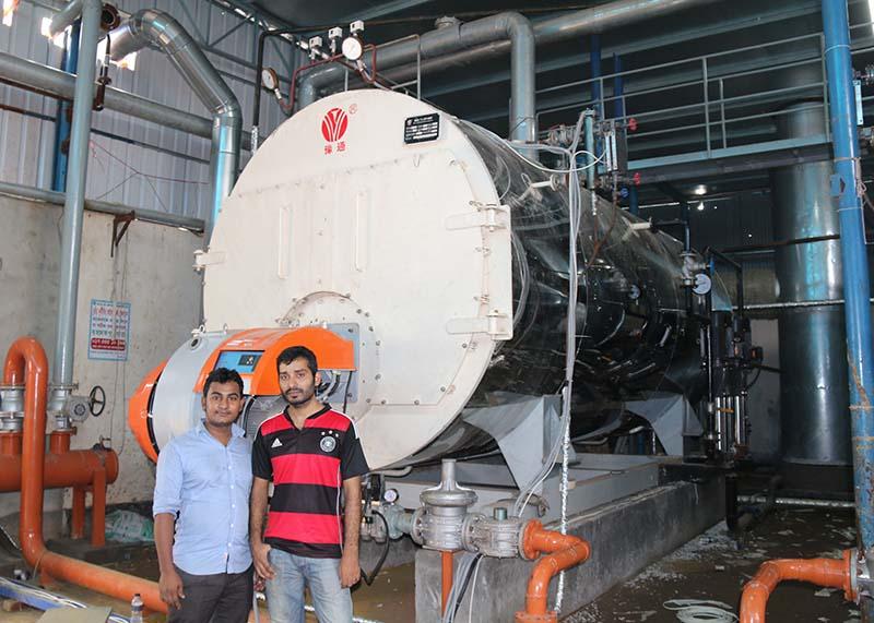 CLHS型立式燃油燃气热水锅炉