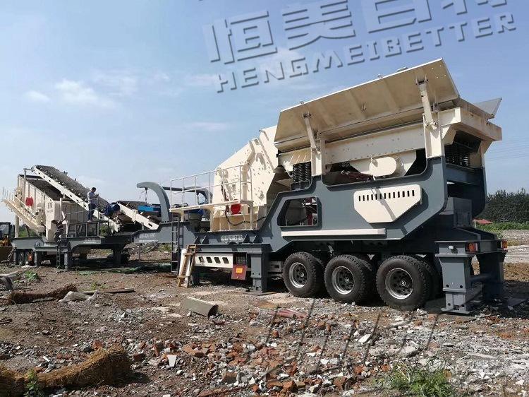 安徽建筑垃圾碎石机价格 移动碎石机型号 鹅卵石制砂生产线可分期