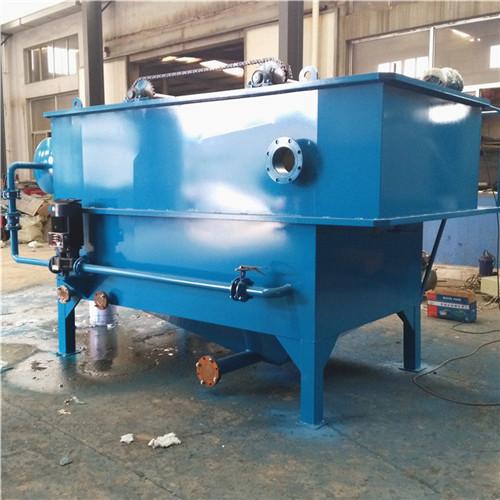 豆制品加工厂污水处理设备_浅层气浮机