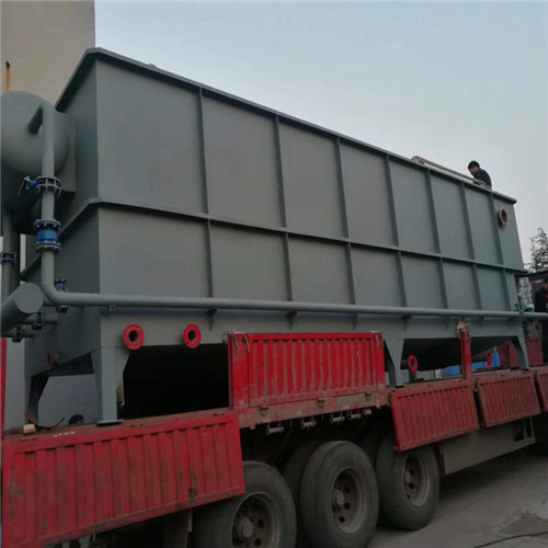 铝合金清洗废水处理设备_平流式溶气气浮机