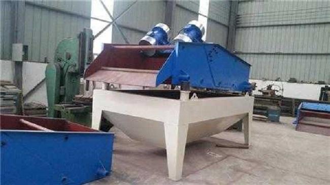 水洗砂脱水筛提案创新