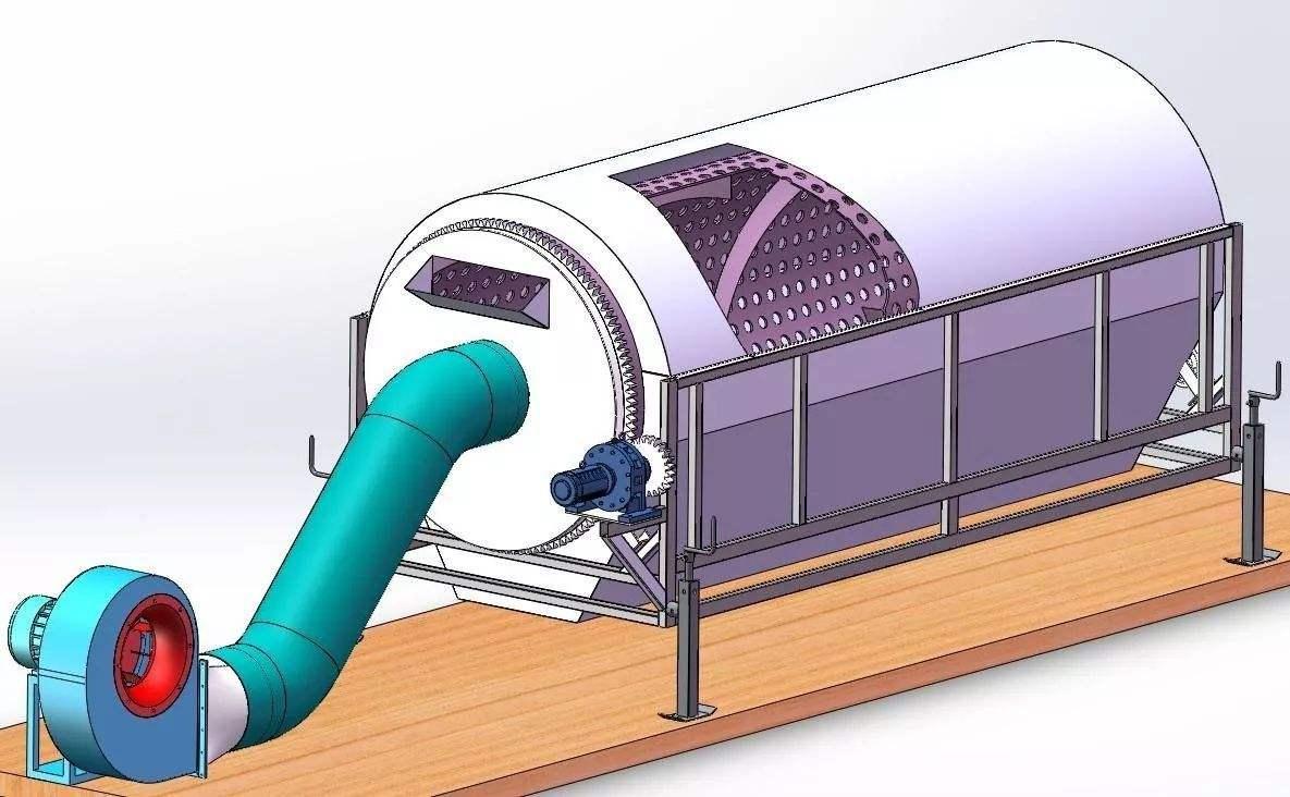 卧式风选筛-生物颗粒专用气流筛分机生产厂家直销价格优惠